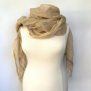 Peruvian Connection Silk Scarf Wrap One Size - Sma